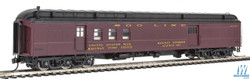 Walthers Proto HO 920-17407 70' Heavyweight Railway Post Office - Baggage Soo Line Clerestory Roof