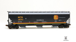 ScaleTrains HO Operator SXT10553 Gunderson 5188 cf Covered Hopper Kansas City Southern - KCS#287107