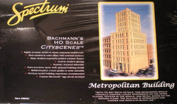 HO Scale Bachmann Spectrum #88003 Metropolitan Building Kit