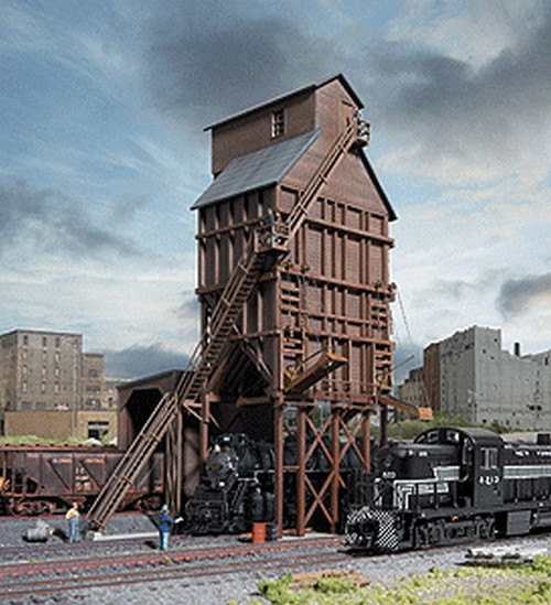 Walthers Cornerstone N Scale 933-3823 Wood Coaling Tower - Kit