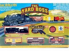 Bachmann N 24014 The Yard Boss - Santa Fe Steam Set