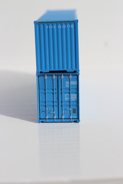 Jacksonville Terminal Company N 405040 40' High Cube GE SEACO 2-Pack