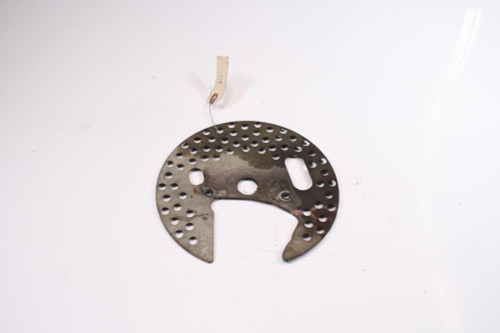 02 Yamaha Warrior 350 YFM350X Front Right Side Rotor Shield Dust Cover