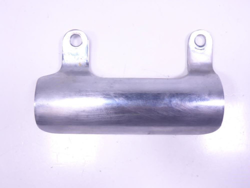01 Suzuki LS650 Savage Right Side Header Pipe Cover Shield Chrome Heat Shield