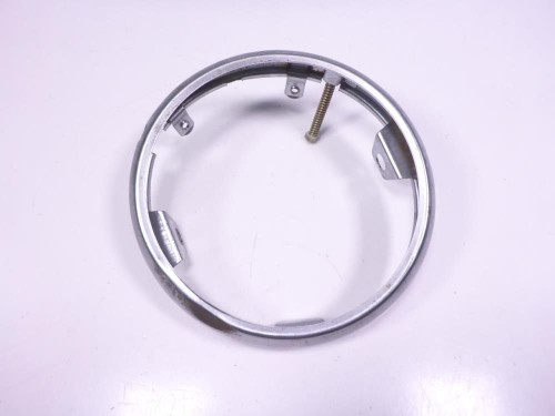 01 Suzuki LS650 Savage Front Headlight Chrome Ring Trim Cover
