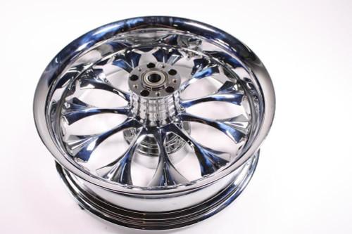 Detroit V.I.P. Harley HD FLH FLHT Wheel Rim Rear Billet Chrome 18x5.5 65-4557