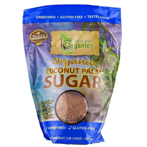 Organic Coconut Palm Sugar - 1 Lb