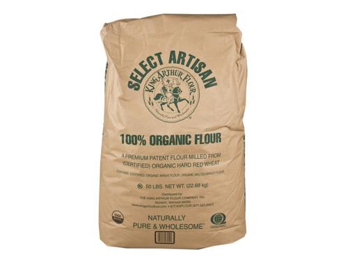 Artisan Select Organic Flour - 50 Lb