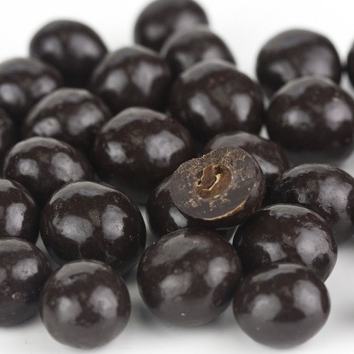 Dark Chocolate Espresso Beans - 1.5 Lb Tub