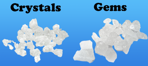 Loose Lime Rock Candy Crystals
