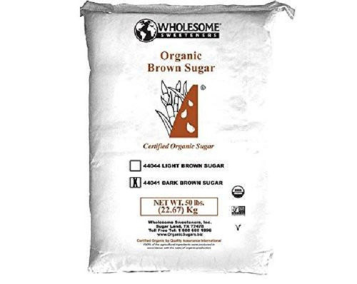 Organic Dark Brown Sugar - 50 Lb