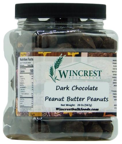 Dark Chocolate Peanut Butter Peanuts - 1.25 Lb Tub