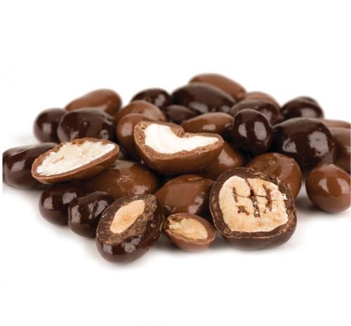 Milk & Dark Chocolate Deluxe Mixed Nuts - 1.5 Lb Tub