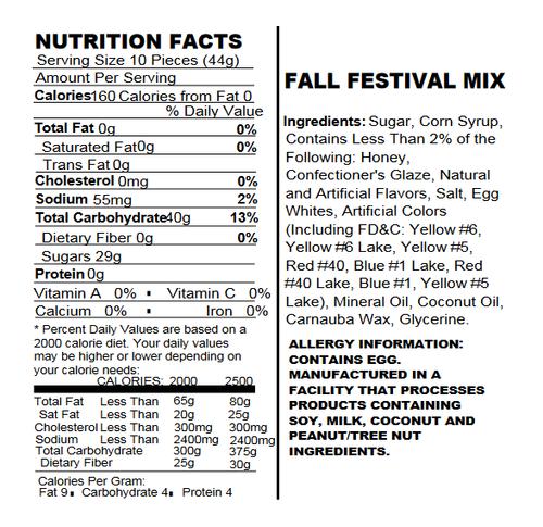 Fall Festival Mello Creme Mix