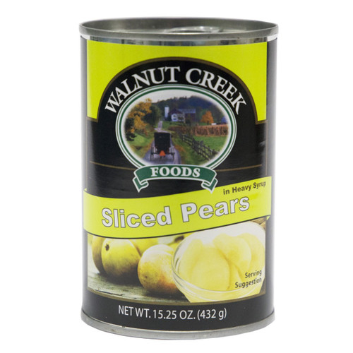 Sliced Pears - 15.25 oz (Case of 12)