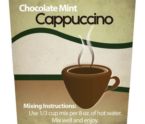 Chocolate Mint Cappuccino Mix