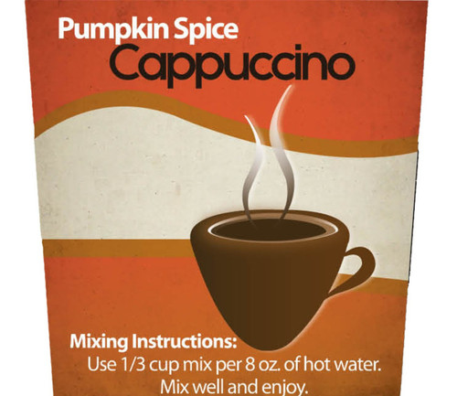 Pumpkin Spice Cappuccino Mix