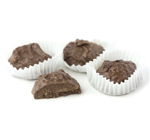 Asher Milk Chocolate Coconut Clusters - Sugar Free