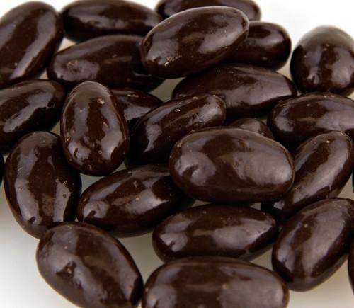 Dark Chocolate Almonds - No Sugar Added