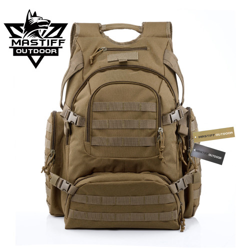 Mastiff Outdoor Summit Rucksack Tactical Camping Hunting MOLLE Gear Backpack