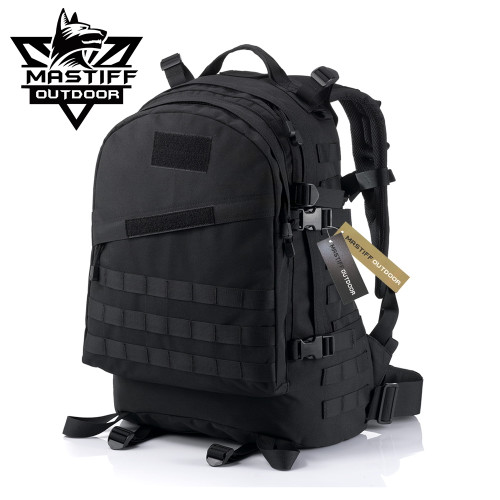 Mastiff Outdoor Tactical Everyday Backpack Military MOLLE Camping Rucksack