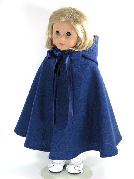 handmade doll cape