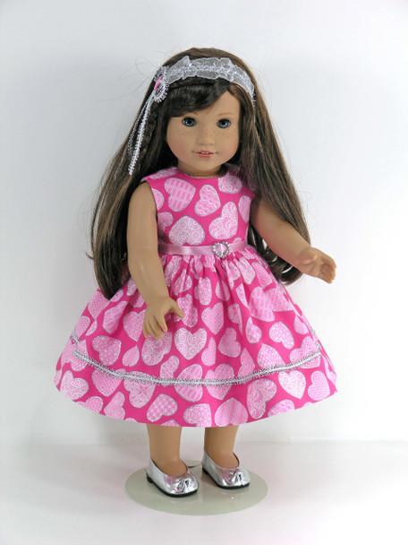 handmade American doll dress