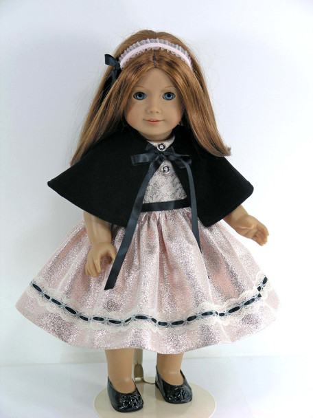 American doll Christmas dress