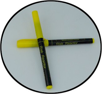 Secure your property using the invisible MAR-C0 fluorescent UV pen.