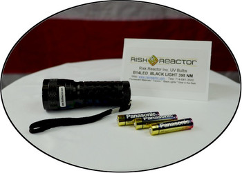 Our fourteen UV LED black light comes with the batteries and ready to use right now buy yours today.