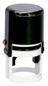 Custom 1 Inch Round Self Inking Samper.