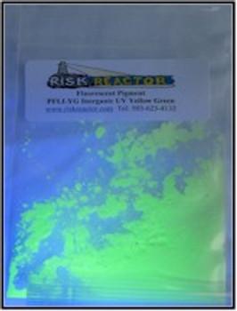 100 g Yellow Green Longwave Inorganic Pigments.