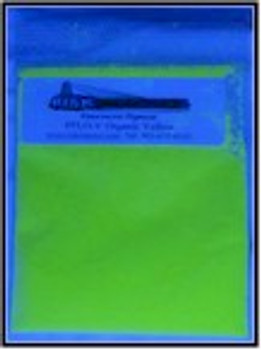 1 kg Yellow Longwave Organic UV Security pigments.