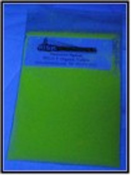 UV Yellow Shortwave Organic Security Pigments