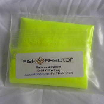 PF-18 Yellow Tang Fluorescent powder.
