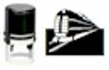 Train Round Self Inking Stamper for Fluorescent and Any Ink