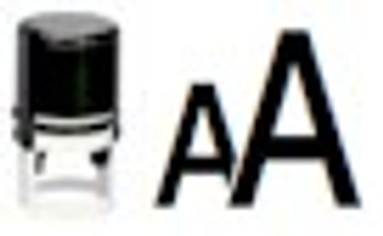 Blacklight AA stampers that can be used with any black or regular stamping inks