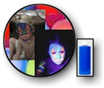 Blue Tang Neon Body UV Paints. 2