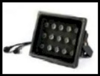 45 watt floodlight UV fixture for curing or non destructive testing industries