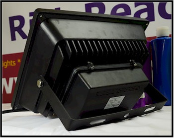 Back of the mega UV flood light for theater and UV curing
