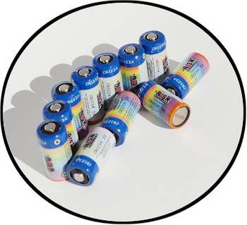 Wholesale CR123A batteries specially designed for Risk Reactor UV flashlights