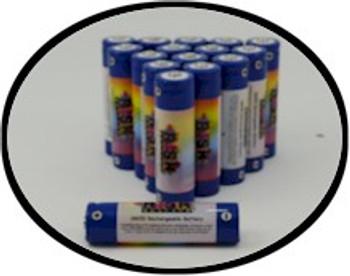 Wholesale 18650 rechargeable black light batteries