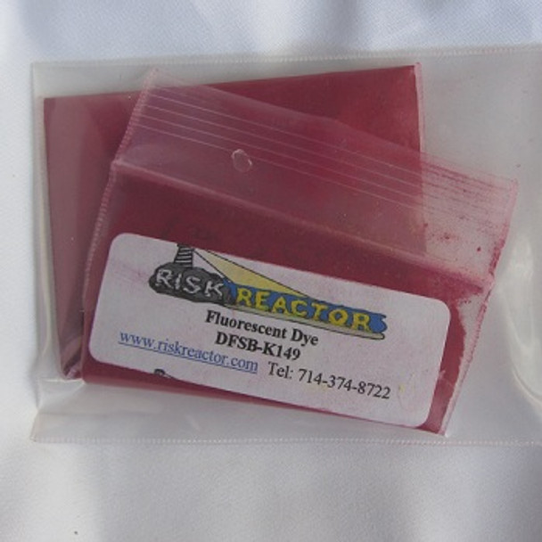 Dry fluorescent colored powder colorants.