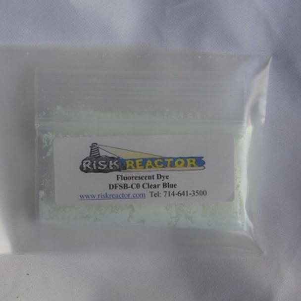 Invisible blue ultra violet DFSB-C0 fluorescent optical brightener dye.
