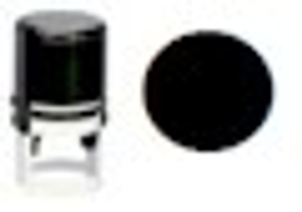 Round dot blacklite stamper for any visible ink as well