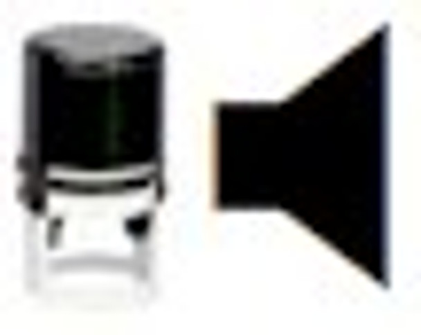 Right speaker uv stamper with blank pad ready for any black light or regular ink