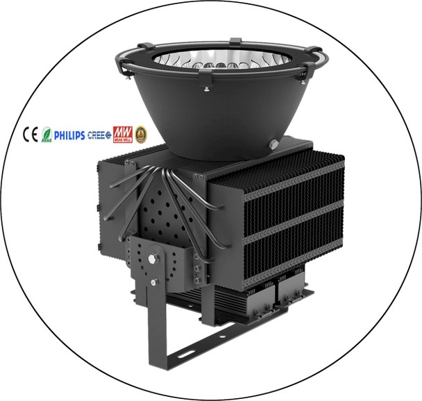 Round UV LED flood light cam style theatrical black lights that can also be used for ultraviolet curing