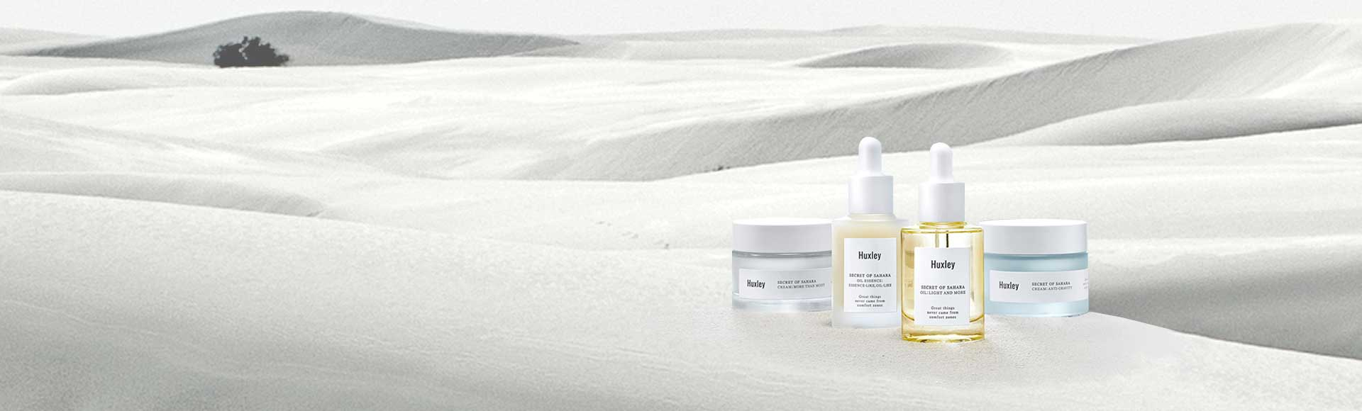 Huxley Luxury Korean skin care collection now available at Melon & Starfish