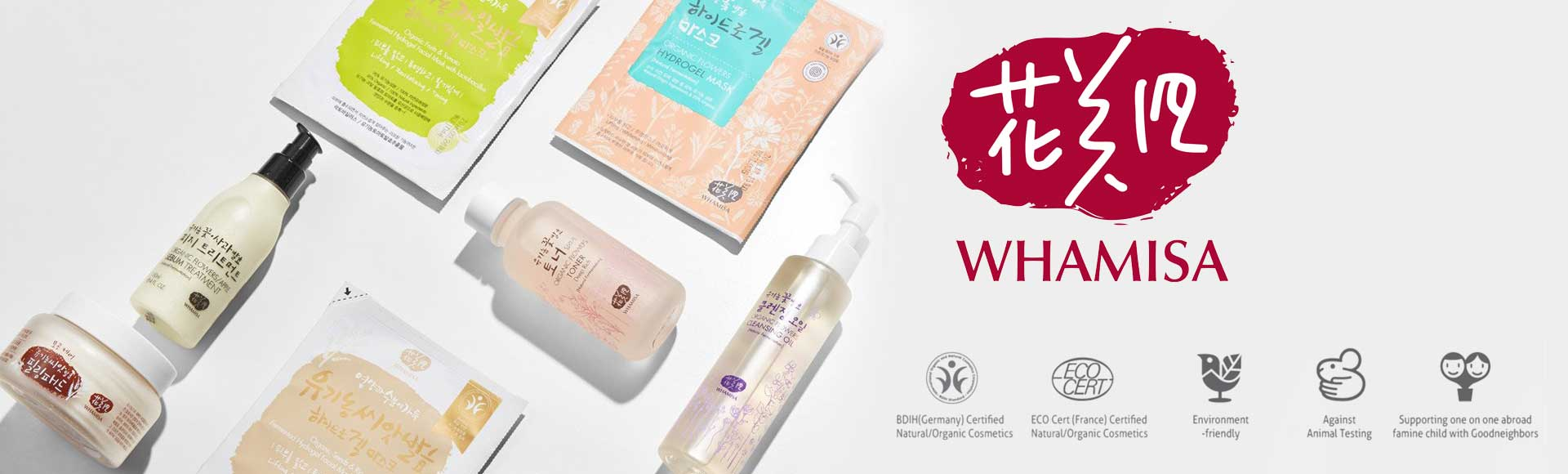 Whamisa Korean skin care collection now available at Melon & Starfish