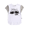 Painted Racoon Drop Tee